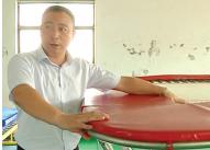 技巧场上走出的儒商——记浙江金耐斯体育用品有限公司董事长黄拥军