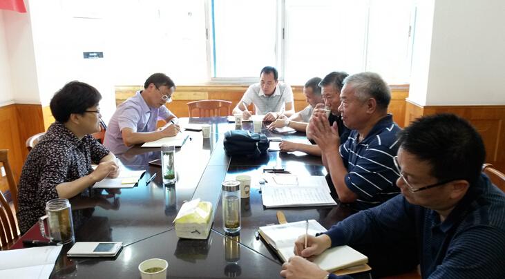 【建德市】筹备全国老年人健身球操培训交流活动