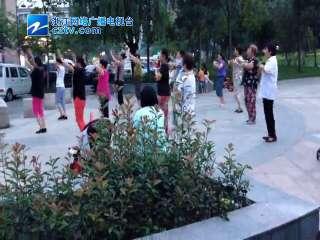 【拱墅区】上塘街道拱宸社区关怀老年人健身活动