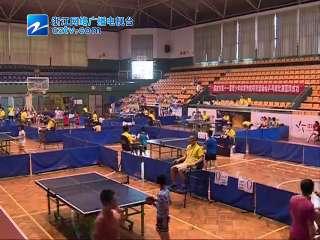 【龙游县】衢州市第十一届青少年体育传统项目运动会乒乓球比赛开赛