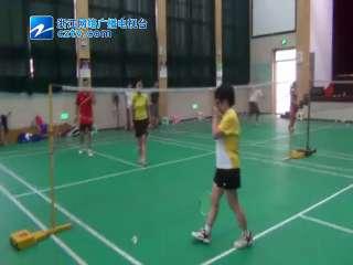 【拱墅区】上塘街道举办第三届全民运动会羽毛球混双比赛]