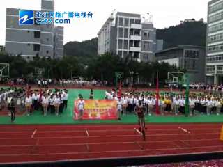 【温州市】中学生自行车队精彩表演