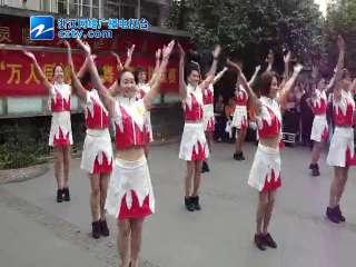 """【西湖区】灵隐街道开展""""万人同跳一支舞""""排舞选拔赛"""