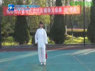 【临海市】李红珠演示陈式太极剑56式