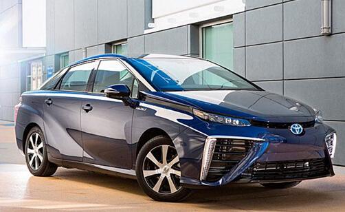 丰田氢燃料电池车Mirai发布 续航500公里