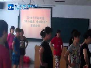 【拱墅区】祥符街道排舞培训班开展的如火如荼