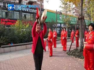 【拱墅区】大浒路社区腰鼓表演