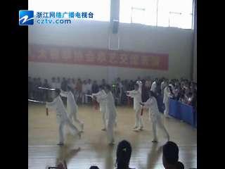 【瓯海区】郭溪街道太极拳爱好者参加区拳艺交流表演