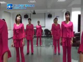 【瓯海区】梧田街道慈湖社区健身舞比赛