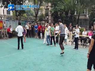 """【拱墅区】米市社区举办""""跳绳快又多""""比赛"""