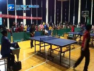 【平湖市】2014中小学生乒乓球比赛