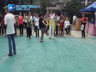 """【拱墅区】米市社区举办""""快乐踢毽子""""大赛活动"""