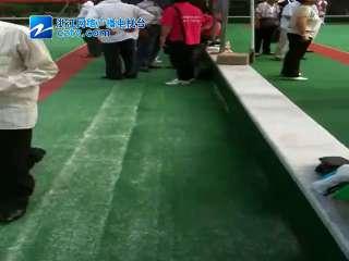 【瓯海区】潘桥街道参加2012年温州市老年门球比赛