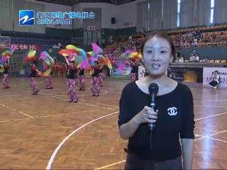 【龙游县】衢州市龙游县举行老年人体艺展示活动