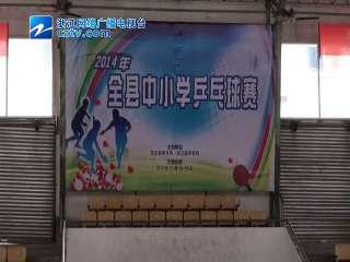 【庆元县】中小学乒乓球赛开赛
