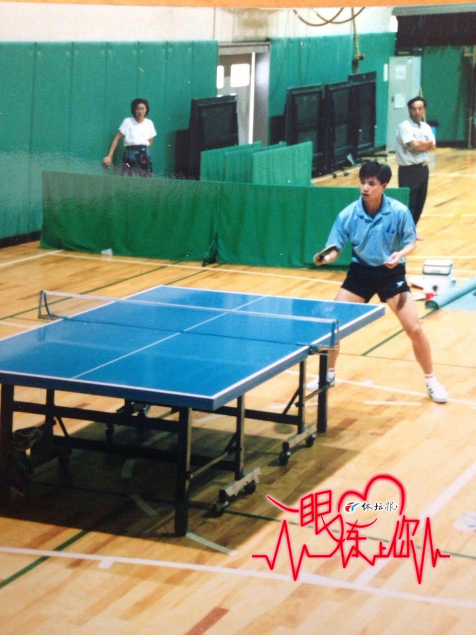 沈磊:打乒乓球的都长很帅!不服你来说!