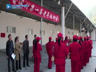 【庆元县】淤上乡蒲潭村举办首届老年人趣味运动会
