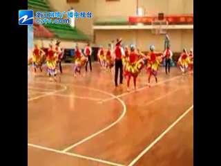 【衢州市】市首届职工运动会举行健身排舞比赛