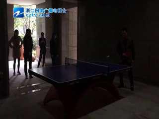 【拱墅区】仁和仓社区开展乒乓球友谊赛