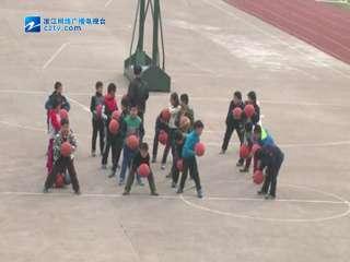 【柯城区】巨化一小篮球训练活动