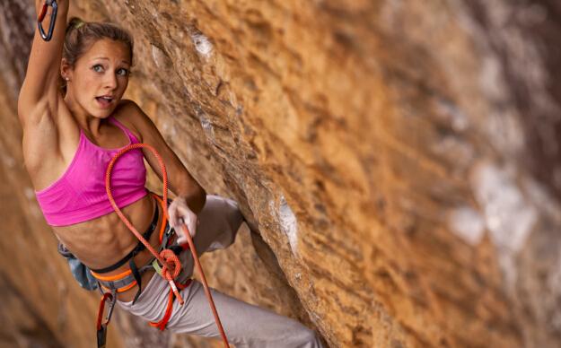 【攀岩】22岁攀岩公主新挑战