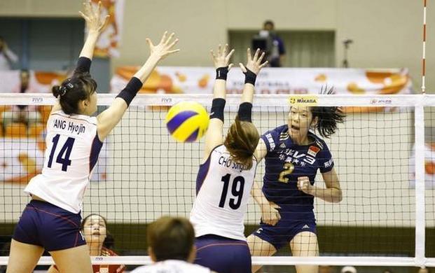【女排】世界杯中国女排3-1逆转韩国