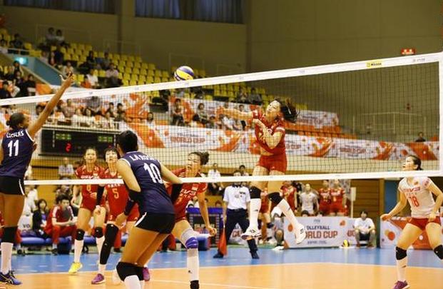 【女排】朱婷休战中国女排半主力3-0胜秘鲁