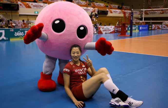 【女排】女排世界杯超萌吉祥物