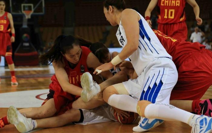 【亚锦赛】中国女篮击败韩国两连胜