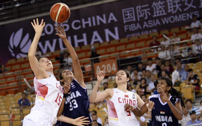 【女篮】中国63分大胜印度 进半决赛