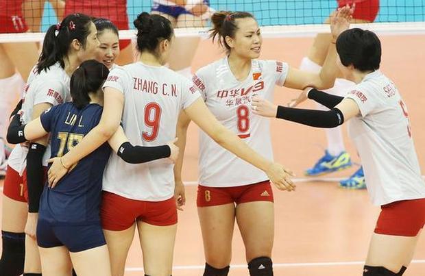 【女排】生死战中国女排3-1俄罗斯