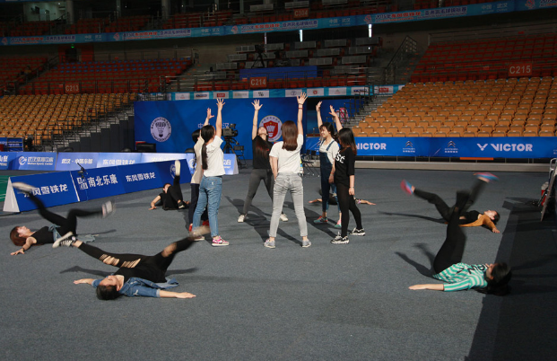 【亚锦赛】另一道风景 啦啦队活力带动全场