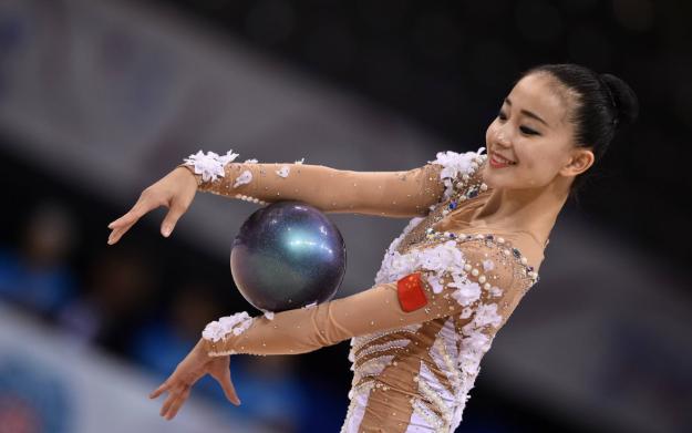 【体操】国艺术体操女神张豆豆亮相世锦赛