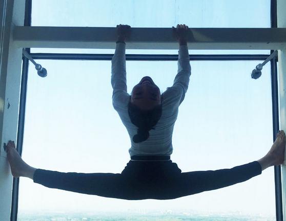 【柔术】中国柔术女王窗台展柔术