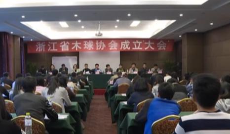 【新闻大直播】浙江省木球协会近日成立