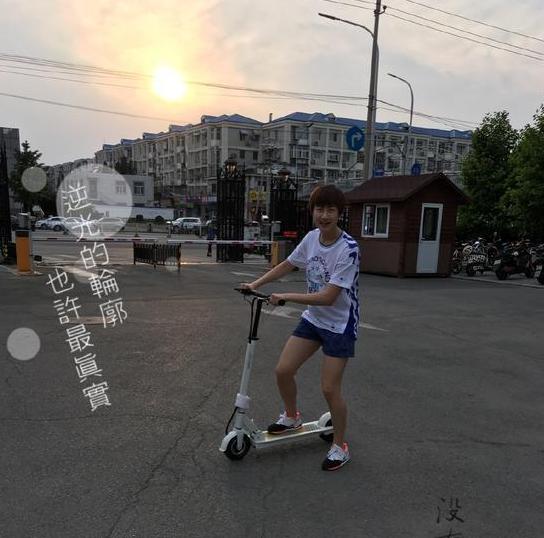 【乒乓球】丁宁微博秀美照展望奥运