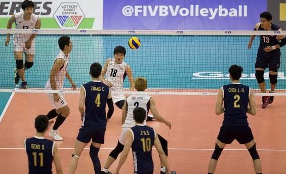【男排】世界男排联赛中国3-1逆转韩国