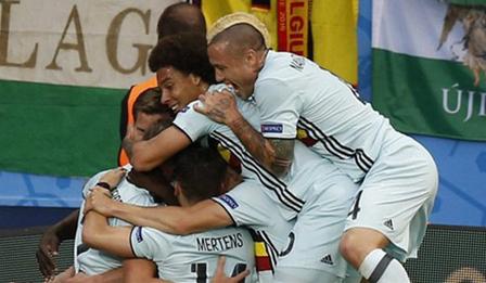 【欧洲杯】比利时4-0淘汰匈牙利晋级