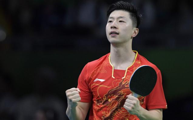 【乒乓球】马龙4-0横扫张继科首夺奥运冠军