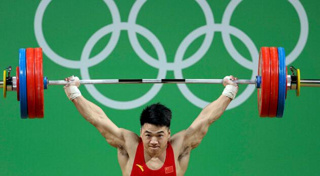 【举重】男子举重85公斤级田涛惜败