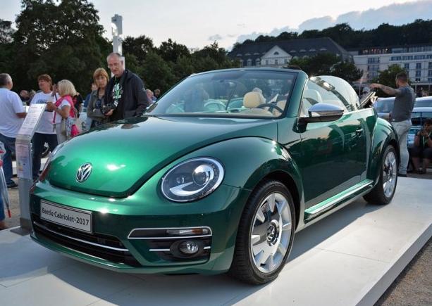 增两种车身颜色 大众2017款甲壳虫亮相