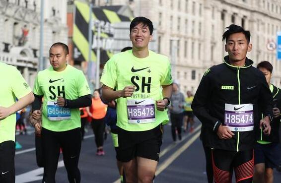 【马拉松】刘翔参加上马5公里家庭跑
