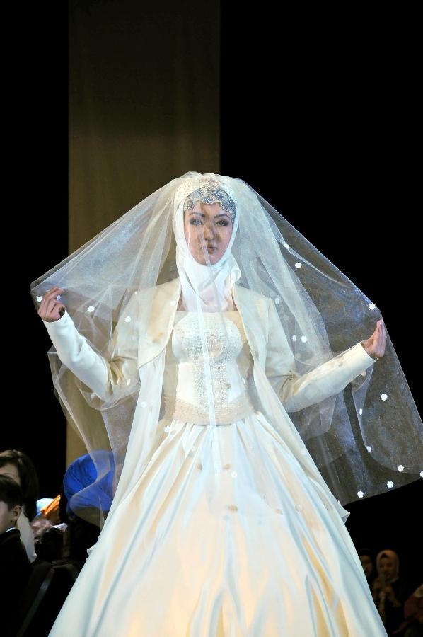 (XHDW)(5)吉尔吉斯斯坦举行穆斯林时尚周