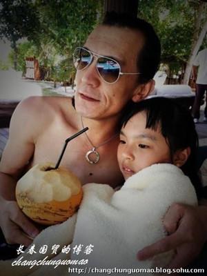 李咏和女儿