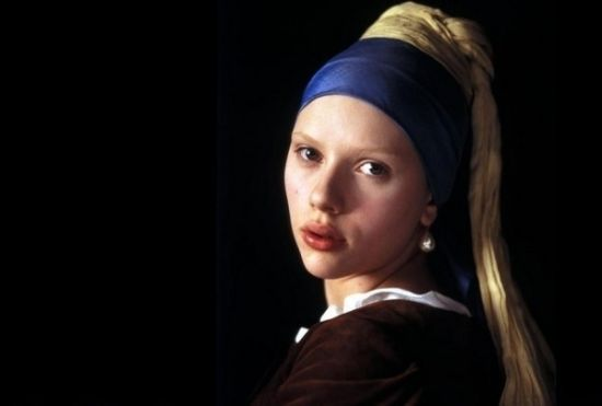 斯嘉丽约翰逊-《戴珍珠耳环的少女》