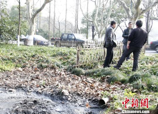 图为:杭州多部门齐聚商讨治污方案。