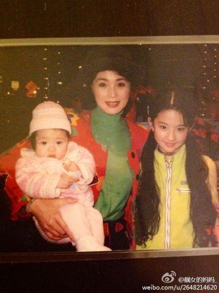 刘亦菲与妹妹刘冬冬