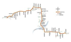 5号线一期起止点:余杭科技岛站-萧山香樟路站全长:51.31公里建设时间:可能2014年上半年候