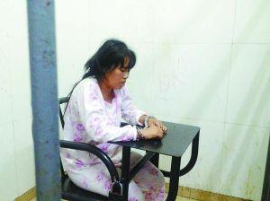 """""""香港贵妇""""接受审讯"""