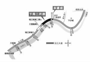 从钱江新城核心区开车去下沙最多半小时